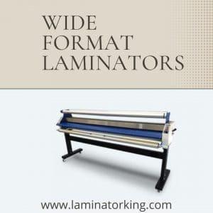 Buy wide format laminator online